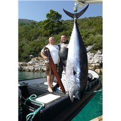5-DAY TUNA FREE DIVE - SPEAR FISHING IN TURKEY