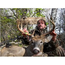5-DAY ARCHERY WHITETAIL DEER HUNT FOR 2 HUNTERS