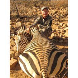 7-DAY MOUNTAIN ZEBRA HUNT FOR 1 HUNTER IN NAMIBIA