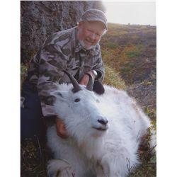 5-DAY LATE SEASON MOUNTAIN GOAT HUNT IN ALASKA FOR 1 HUNTER