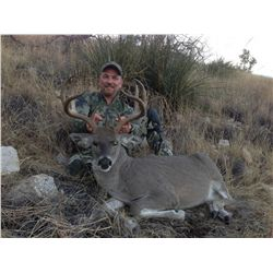 5-DAY COUES WHITETAIL DEER HUNT FOR 2- HUNTERS WITH DIAMOND OUTFITTERS OF ARIZONA