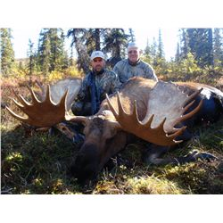 8-DAY MOOSE/GRIZZLY HUNT COMBO FOR 1 HUNTER