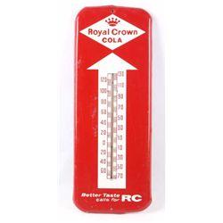 Royal Crown Cola Metal Thermometer