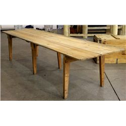 Primitive Country Table (11ft 6.5in long)