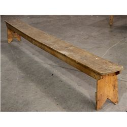 Primitive Country Bench (11ft 2in long)