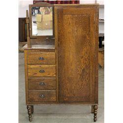 Oak Antique Chiffrobe