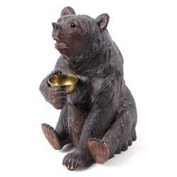 1870-1880's Black Forest Bear Humidor Music Box
