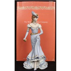 Welsh Porcelain Company Theresa Elegant Lady Figurine