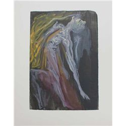 Dali Divine Comedy Inferno Print The Furies Canto 9