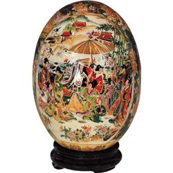 Chinese Porcelain Egg