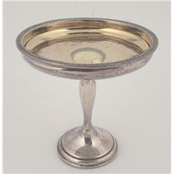 Crown Sterling Pedestal Candy Dish 6 Inch