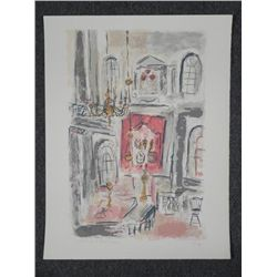 Schyreyer Signed Proof Art Print Palace Interior