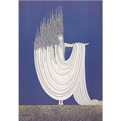 Arctic Sea By Erte Serigraph Signed and Numbered