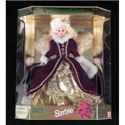 Happy Holidays Special Edition Barbie Doll Snow MIB