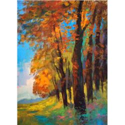 Afternoon By Schofield Original Oil 20x24
