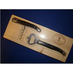 Set of French LAGUIOLE Corkscrew & beer opener