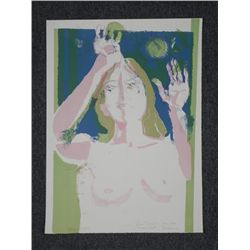 Judith Armoud Signed Proof Art Print Eve Female Nude