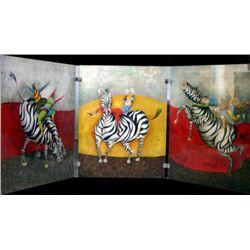 Droles de Zebres Original Lithographs GracielaBoulanger