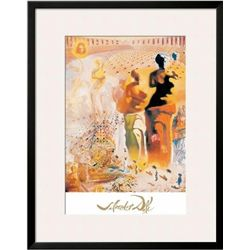 Framed LE TORERO HALLUCINOGENE Print by Salvador Dali