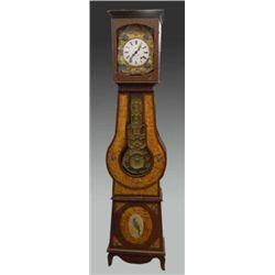 French Provincial grandfather clock cir 1870