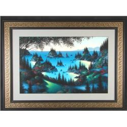 Fantasy Landscape Rattenbury SEA OF DREAMS Art Framed