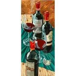 Dima Gorban, Table for Two, Signed Serigraph