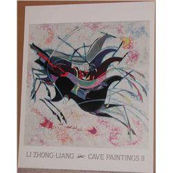 Li Zhong-Liang, Cave Paintings II Poster