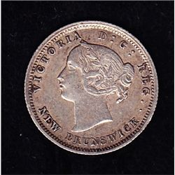 1862 New Brunswick Five Cent