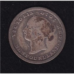 1882 Newfoundland Five Cent
