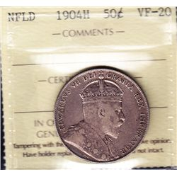 1904H Newfoundland Fifty Cent