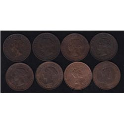 Lot of 8 One Cent