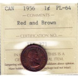 1956 One Cent