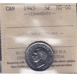 1945 Five Cent