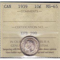 1939 Ten Cent