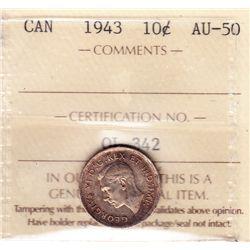 1943 Ten Cent