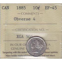 1885 Ten Cent