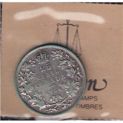 1936 Dot Twenty Five Cent