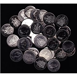 Lot of 39 Fifty Cent Coins