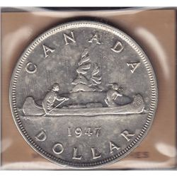 1947 Pointed Silver Dollar