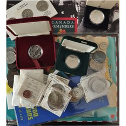 Miscellaneous Lot of Canadian Coins