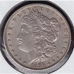 1880 USA Morgan Silver Dollar