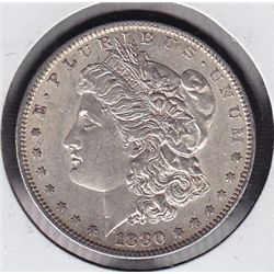 1880O USA Morgan Silver Dollar