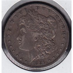 1881O USA Morgan Silver Dollar