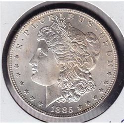 1885 USA Morgan Silver Dollar