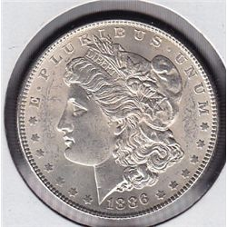 1886 USA Morgan Silver Dollar