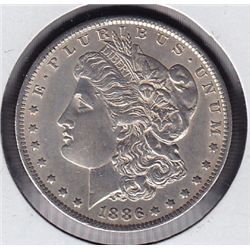 1886O USA Morgan Silver Dollar