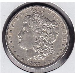 1887O USA Morgan Silver Dollar