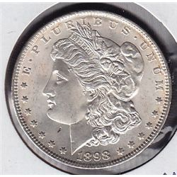 1898 USA Morgan Silver Dollar