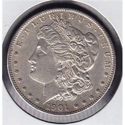 1901O USA Morgan Silver Dollar