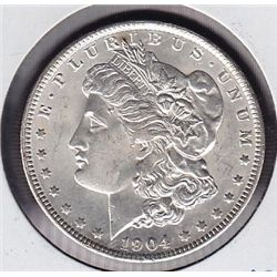 1904O USA Morgan Silver Dollar